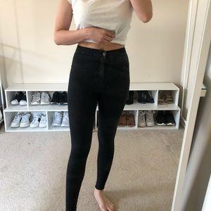 Black Joni Topshop Skinny Jeans